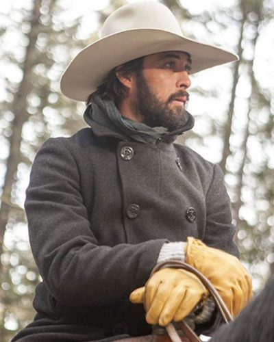 Ryan Bingham Pea Yellowstone coat
