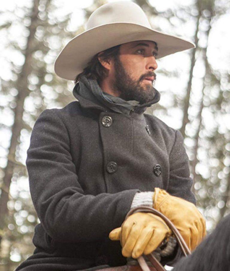Ryan Bingham Pea Yellowstone coat