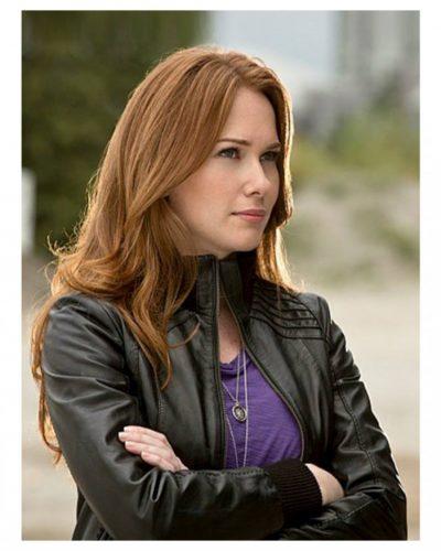 Bette Sans Souci The Flash TV Series Kelly Frye Leather Jacket
