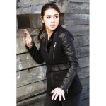 AGENTS OF SHIELD CHLOE BENNET SKYE LEATHER COAT