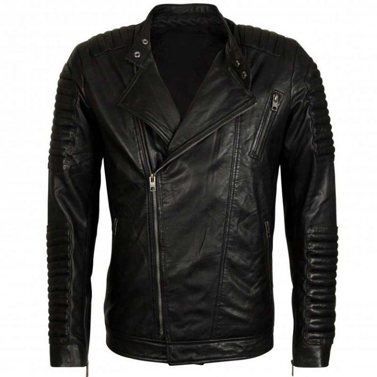 Black Moto Biker Jacket