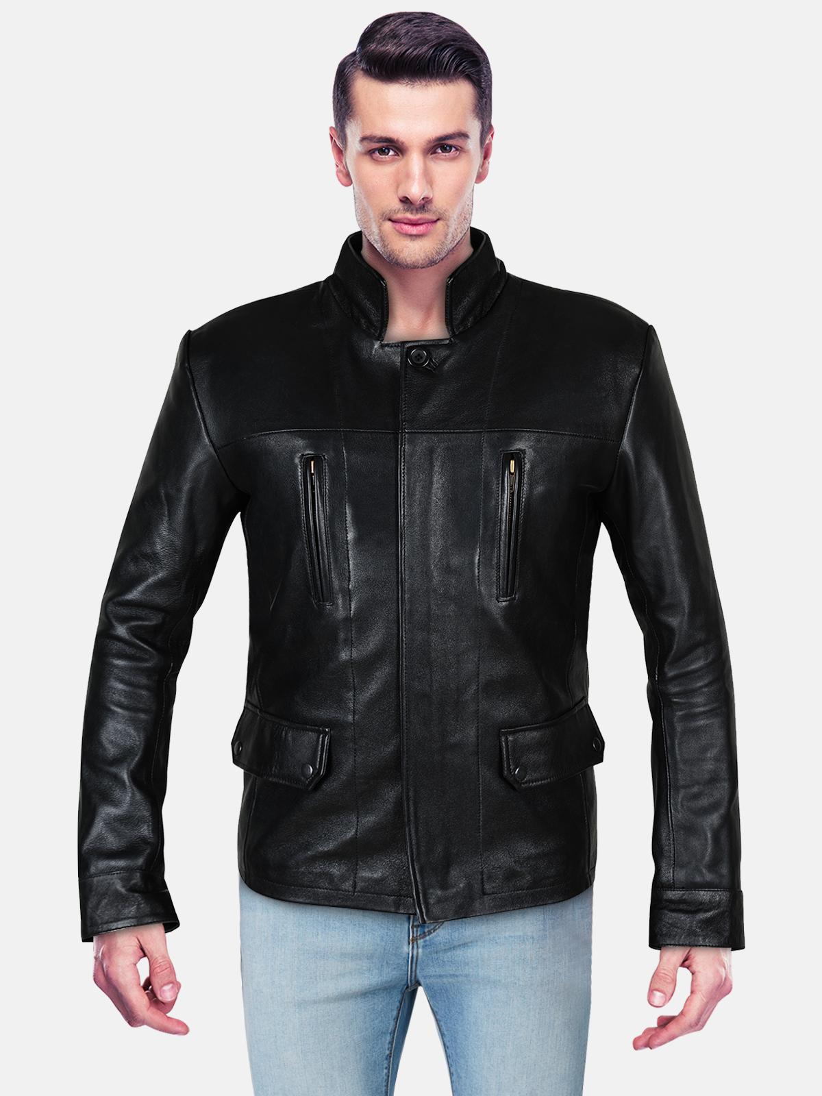 Black Leather Jacket IdealJackets