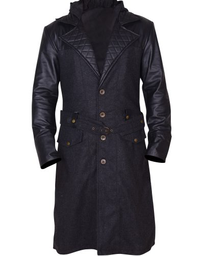 Men Winter Trench Coat