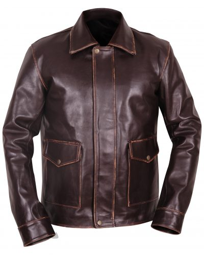 BOMBER BROWN JACKET