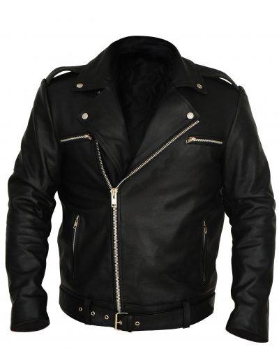 leather biker jacket mens