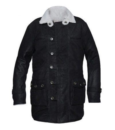 black coat men's style