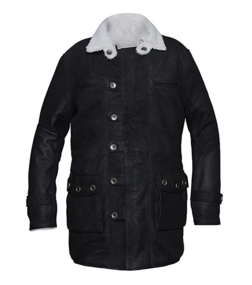 black coat men's style