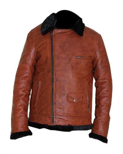 Bomber Sheepskin Leather Jacket