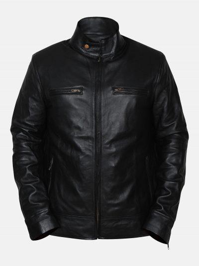 Men-Coal-Black-Leather-Jacket
