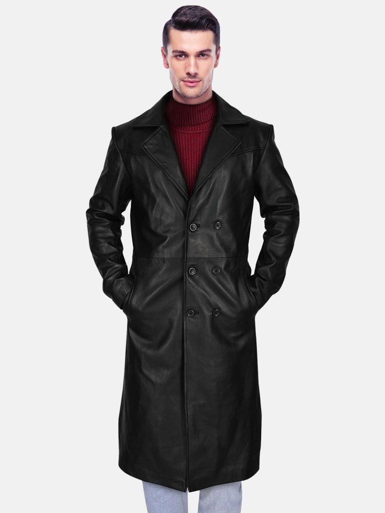 black coat back