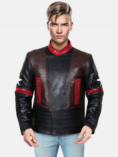 Star Patch Jacket For Men