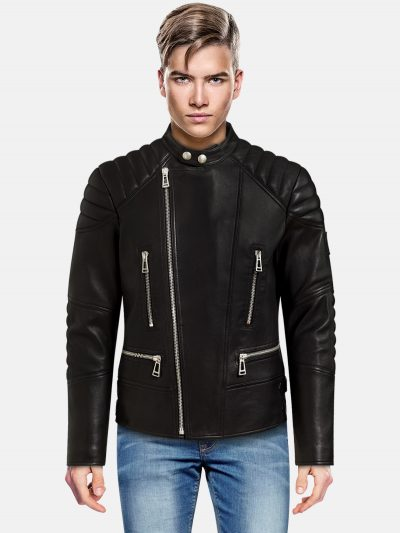 Raven Black Leather Jacket