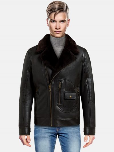 Trendy classic shearling Jacket