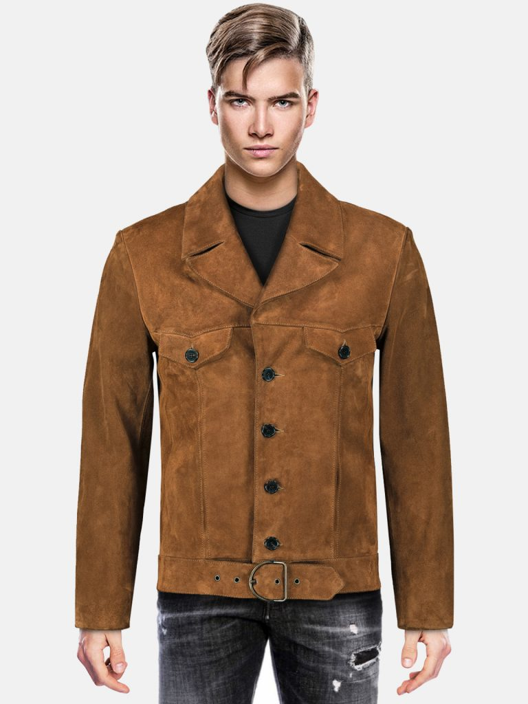 Belted-Style-Suede-Leather-Jacket