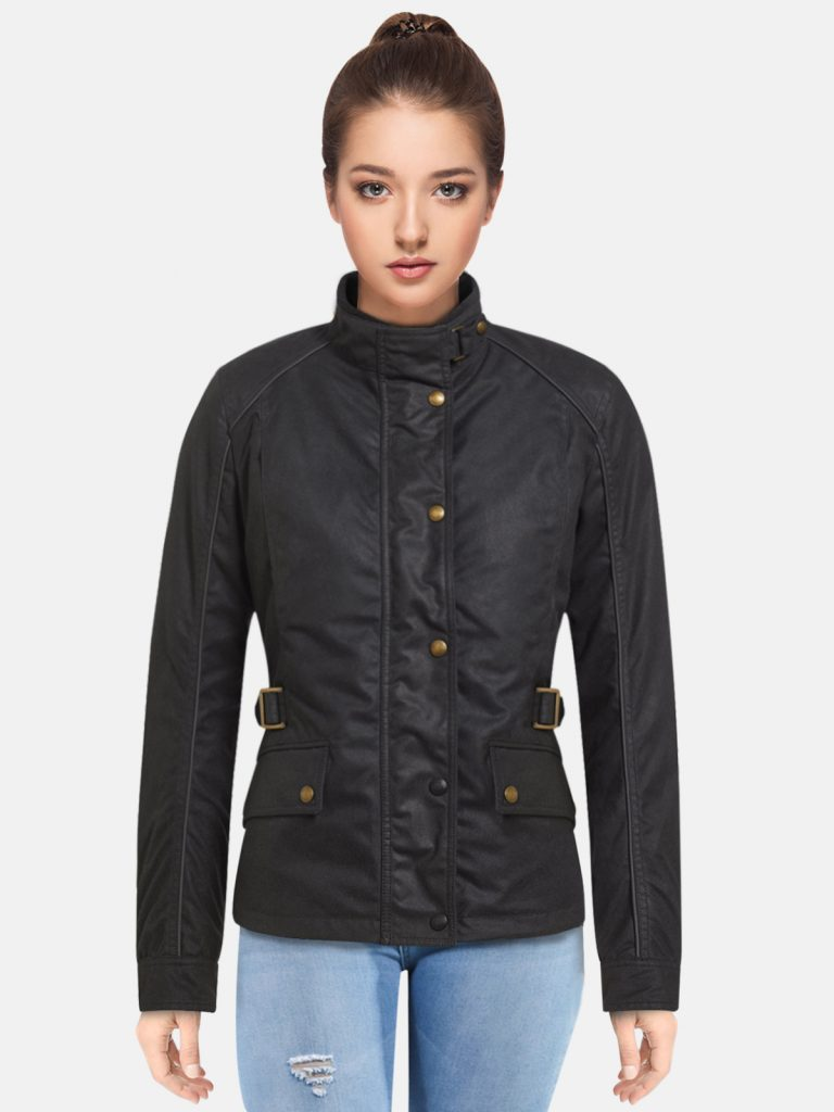 Wax Cotton Jacket For Women