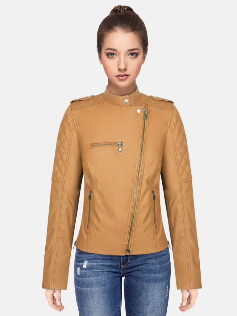 Tin-Brown-Women-Stylish-Leather-Jacket