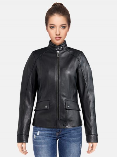 Black-FL-Motorcycle-Jacket-For-women.