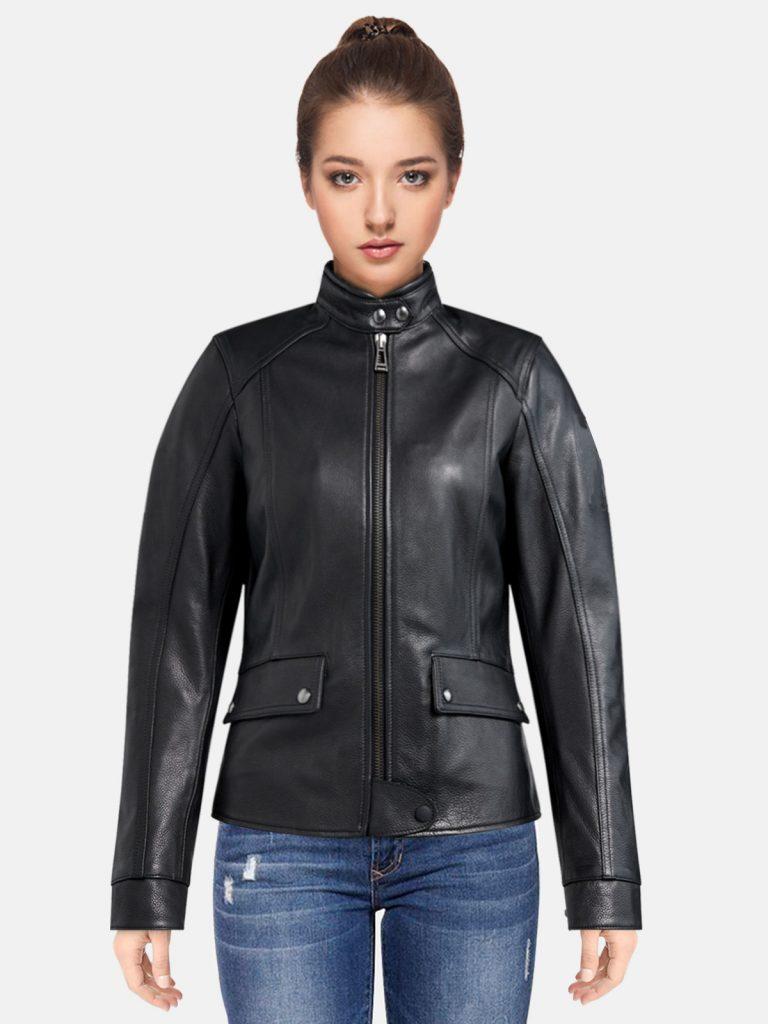 Black-FL-Motorcycle-Jacket-For-women.