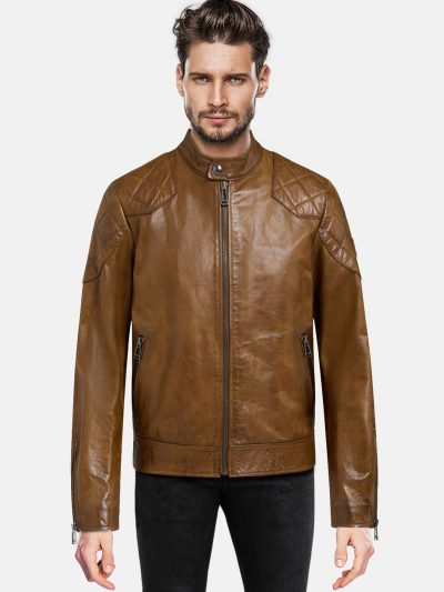 Men's classic cafE Racer Jacket