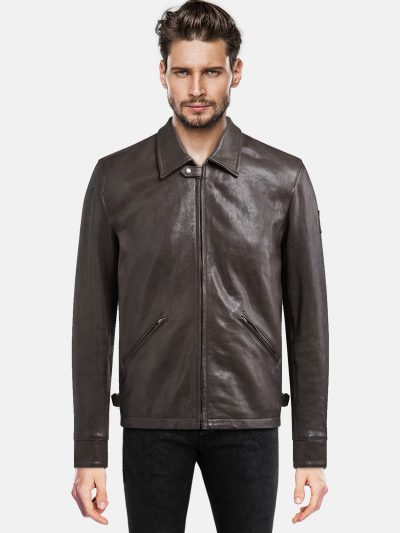Trendy Men's leather Jacket For Boy