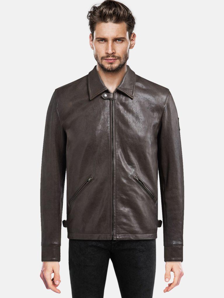 Trendy Men's leather Jacket For Boy
