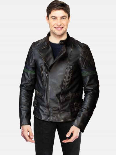 Men's Black Fashion Jacket
