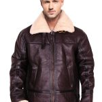 B3 Sheepskin Shearling Bomber Jacket
