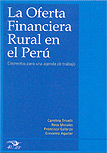 La oferta financiera rural en el Perú