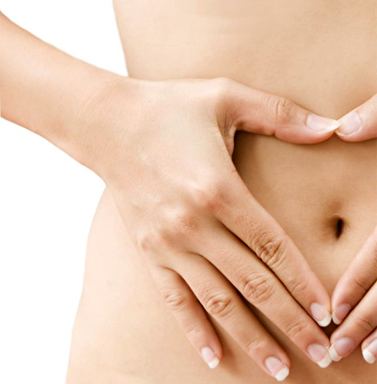 Digestive and menstrual complaints are addressed with acupuncture