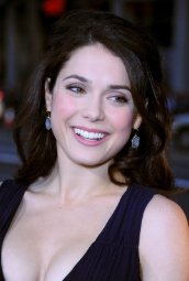 Ali Cobrin Cute Sexy Cleavage HQ Photos at Premiere Of