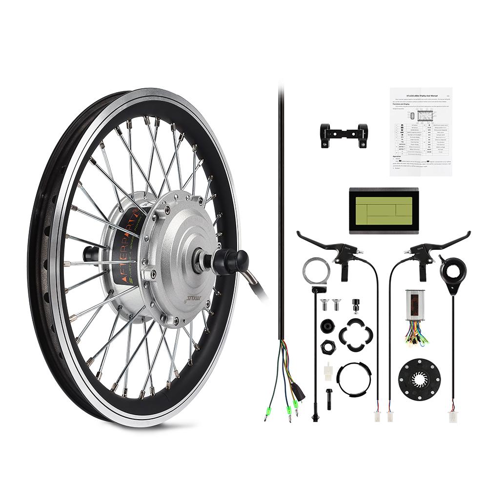 AFTERPARTZ 250W 26'' Kit di conversione bici elettrica Ebike Conversion Kit DE