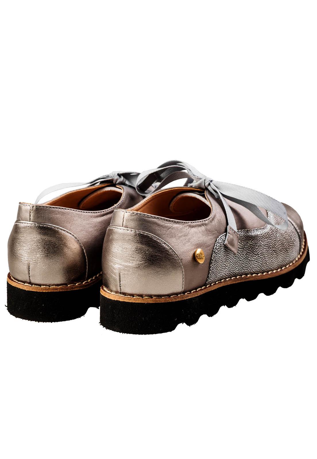 3c00d45b1a5 Ripley - Zapato Oxford Bora Plateado Bloom