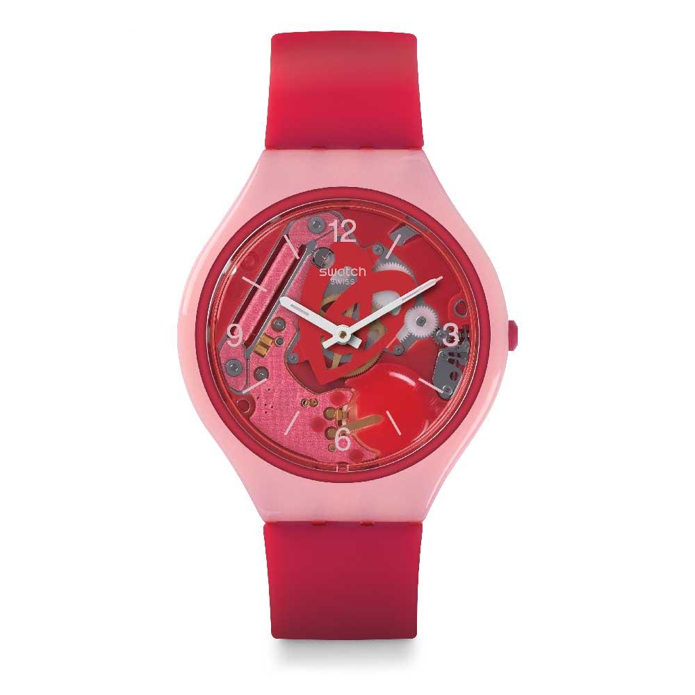2cd3d85051db swatch swatch reloj mujer skin rojo