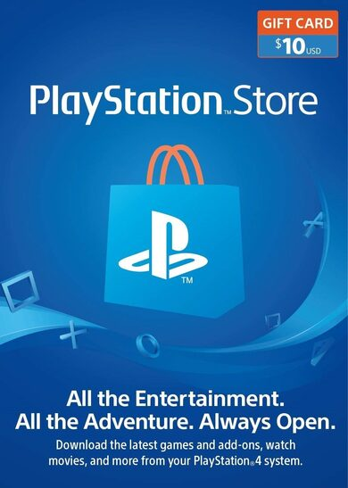 PlayStation Card 10 USD