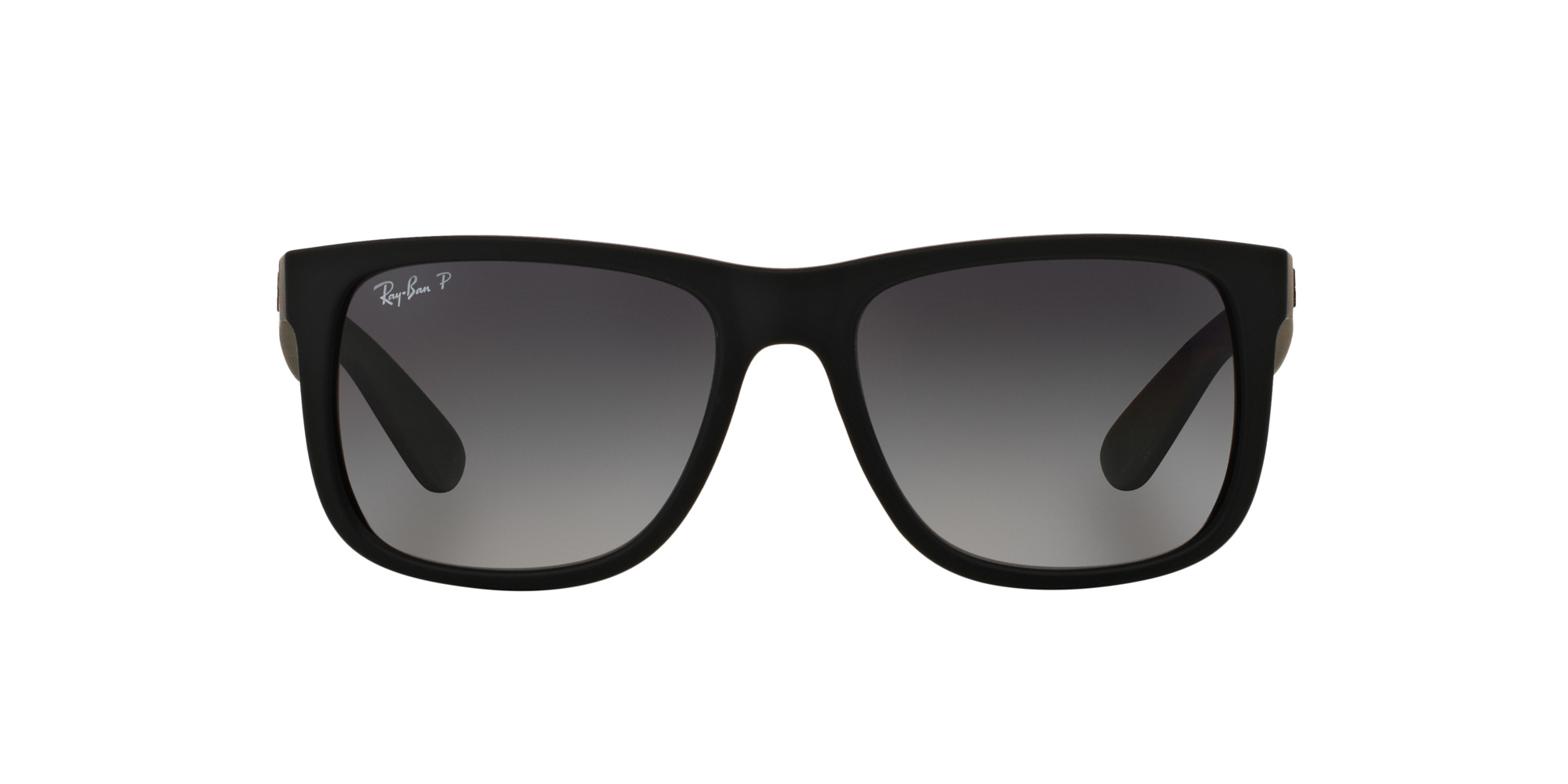 a21413b9d959c Ripley - Ray Ban Justin Black Rubber lente Grey Gradient Polarized