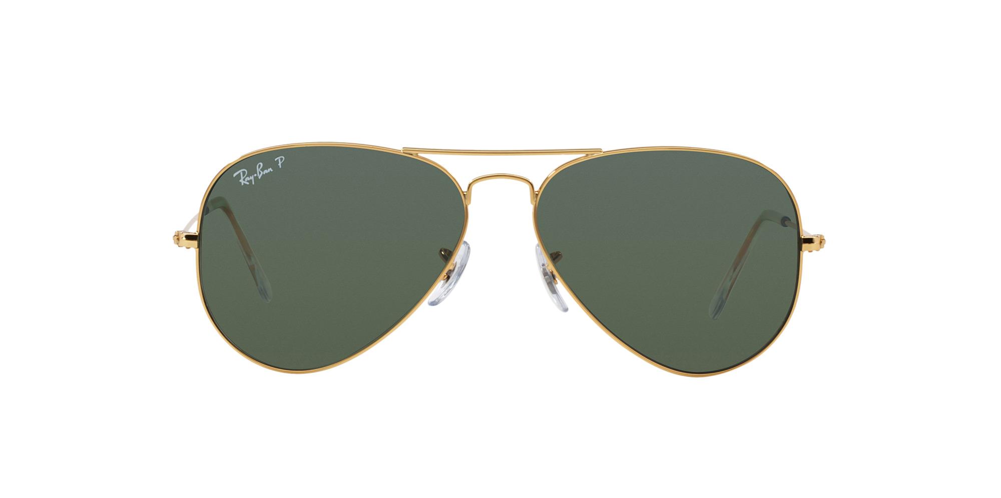 85ea1cd7df6e1 Ripley - Ray Ban Aviador Gold lente Crystal Green Polarized !