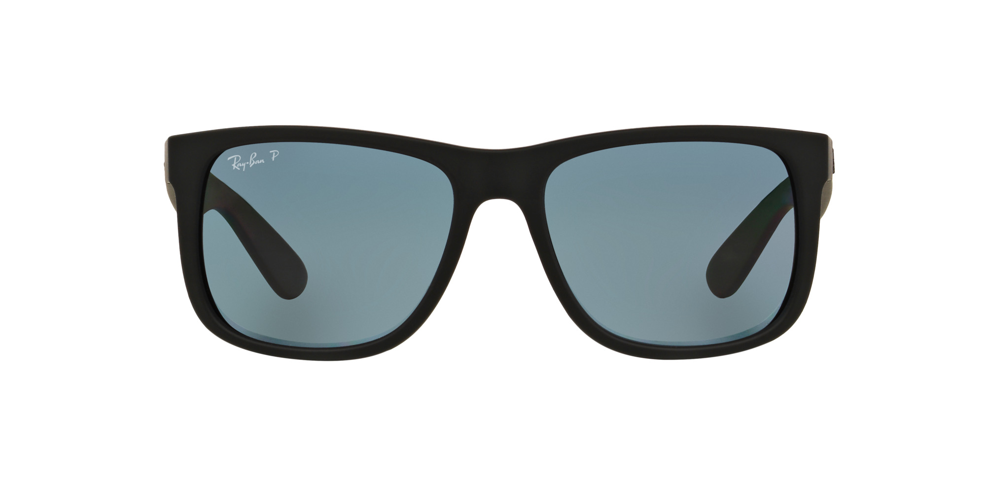 dd7d3d8bd2 Ripley - Ray Ban Justin Black Rubber lente Dark Blue Polarized !
