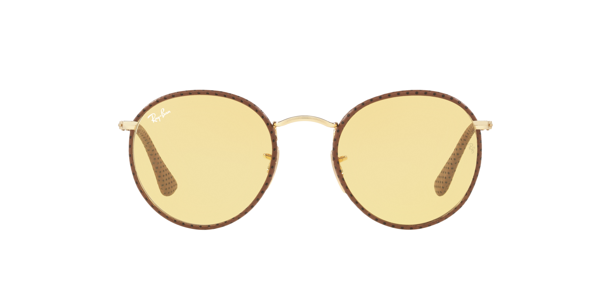 46c23d1bf8 Ripley - Ray Ban Round Craft Leather Light Brown lente Yellow Photocromatic  Fotocromáticos !