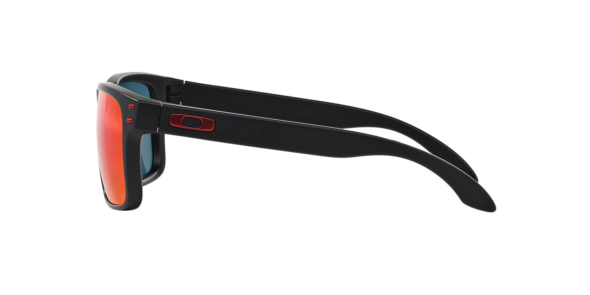 37bd5aa852 Ripley - Oakley Holbrook Matte Black lente Positive Red Iridium !