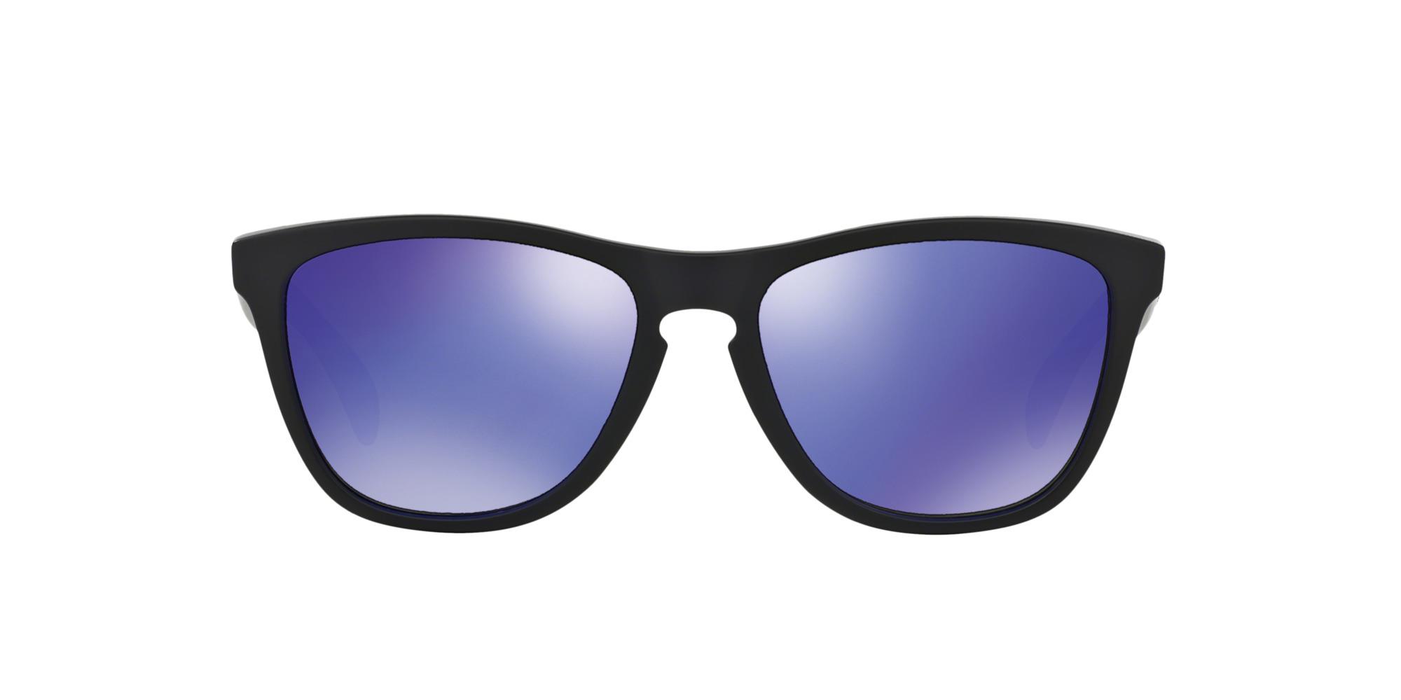 54fe92d9c6 Ripley - Oakley Frogskins Matte Black lente Violet Iridium !