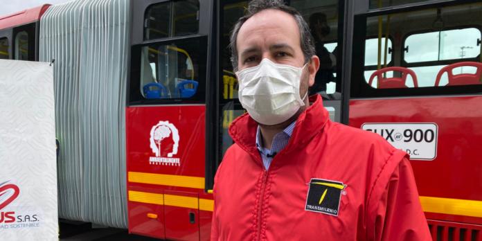 Felipe Ramírez, gerente de TransMilenio