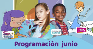 Programación de televisión infantil junio Eureka