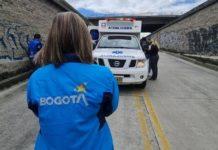 Operativos verifican ambulancias en Bogotá