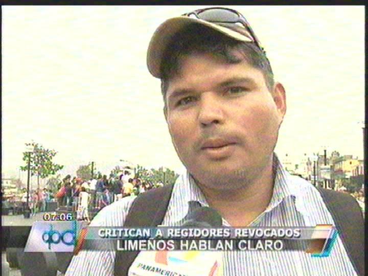 Limeños divididos ante posible consulta popular de regidores en Octubre