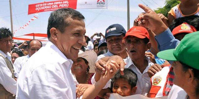 Ollanta Humala presidió celebración por el Día del Trabajo en Ate