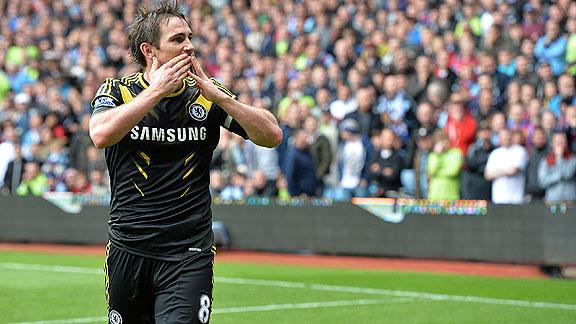 Chelsea venció 2-1 al Aston Villa por la Premier League