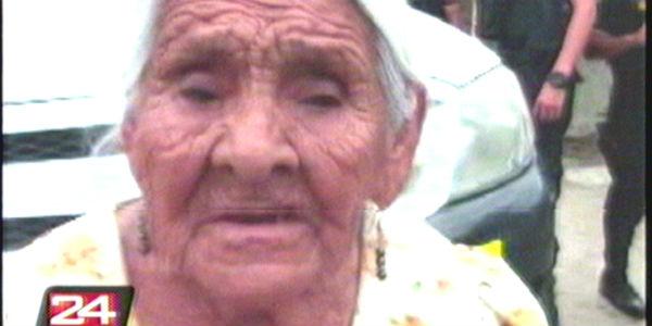 Detienen a la 'Tía Augusta', anciana de 90 años abastecía droga en todo Piura