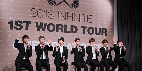 "Tour Mundial ""One Great Step"" de INFINITE llega al Perú en noviembre"