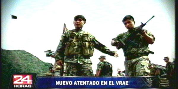 Atentado en el Vraem: remanentes de Sendero atacan puesto del Ejército