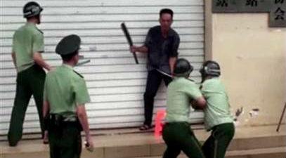China: mata a machetazos a dos empleados en oficinas del Gobierno